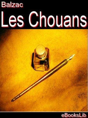 cover image of Les Chouans