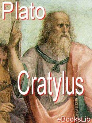 cover image of Cratylus