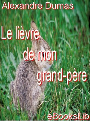cover image of Le Lièvre de mon grand-père