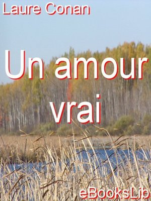 cover image of Un amour vrai