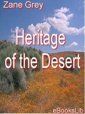 cover image of Heritage of the Desert