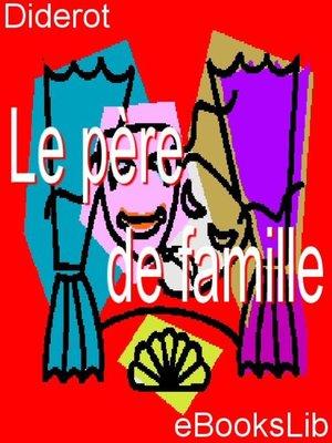 cover image of Le père de famille