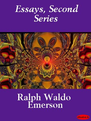 cover image of Essays, Second Series