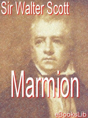 cover image of Marmion