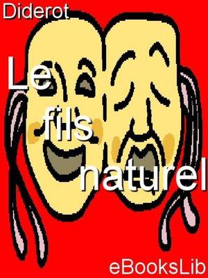 cover image of Le fils naturel