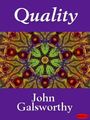 cover image of Quality