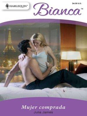 cover image of Mujer comprada