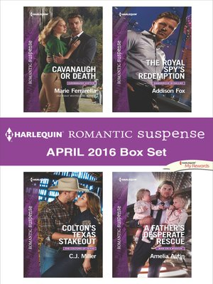 cover image of Harlequin Romantic Suspense April 2016 Box Set