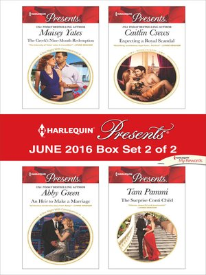 cover image of Harlequin Presents June 2016, Box Set 2 of 2