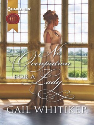 cover image of No Occupation for a Lady