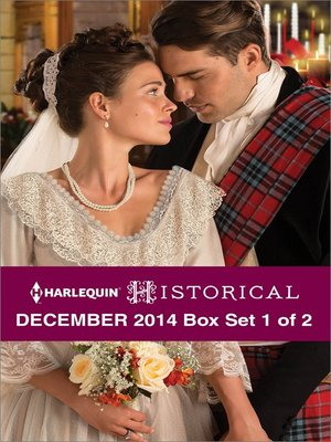 cover image of Harlequin Historical December 2014 - Box Set 1 of 2: Strangers at the Altar\Outlaw Hunter\Innocent's Champion