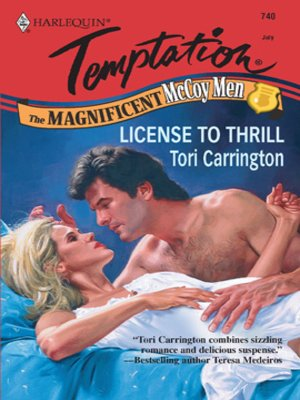 cover image of License to Thrill