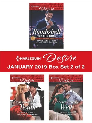 cover image of Harlequin Desire January 2019 Box Set, 2 of 2