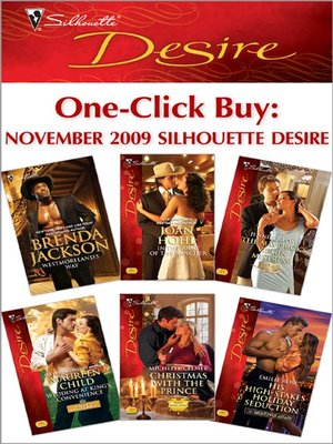 cover image of One-Click Buy: November 2009 Silhouette Desire: Westmoreland's Way\In the Arms of the Rancher\The Maverick's Virgin Mistress...