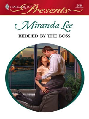 cover image of Bedded by the Boss