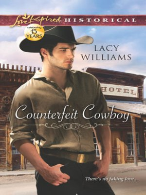 cover image of Counterfeit Cowboy