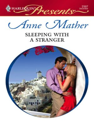 cover image of Sleeping with a Stranger