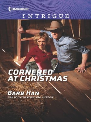 cover image of Cornered at Christmas