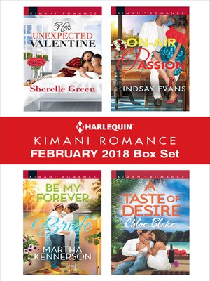 cover image of Harlequin Kimani Romance February 2018 Box Set