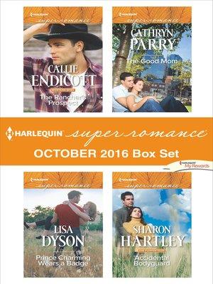 cover image of Harlequin Superromance October 2016 Box Set