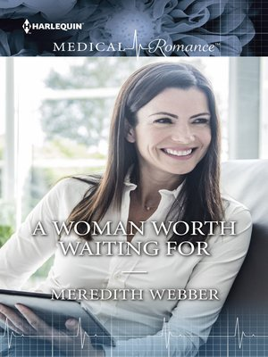 cover image of A WOMAN WORTH WAITING FOR