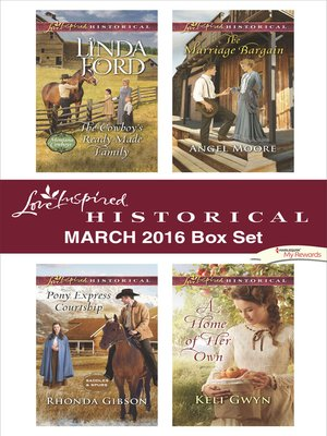 cover image of Love Inspired Historical March 2016 Box Set