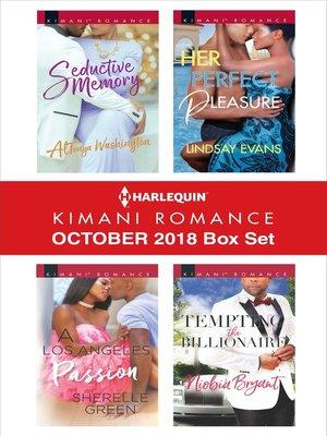 cover image of Harlequin Kimani Romance October 2018 Box Set