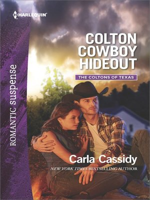 cover image of Colton Cowboy Hideout--A Western Romantic Suspense Novel