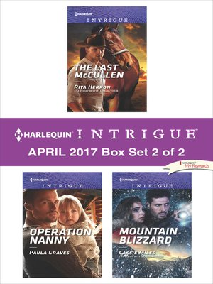 cover image of Harlequin Intrigue April 2017, Box Set 2 of 2