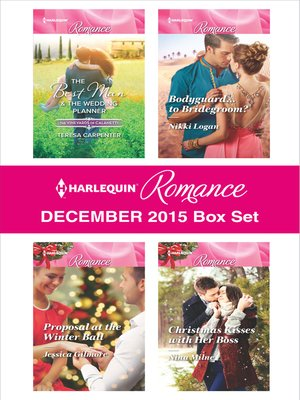 cover image of Harlequin Romance December 2015 Box Set