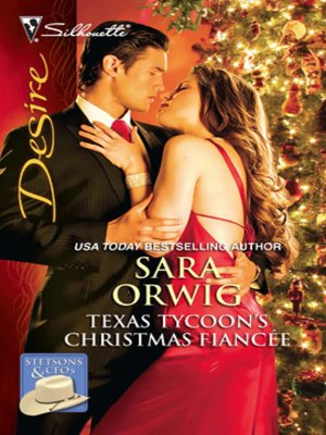 cover image of Texas Tycoon's Christmas Fiancee