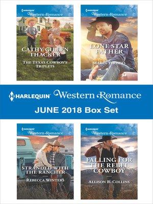 cover image of Harlequin Western Romance June 2018 Box Set