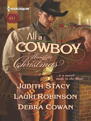 cover image of All a Cowboy Wants for Christmas: Waiting for Christmas\His Christmas Wish\Once Upon a Frontier Christmas