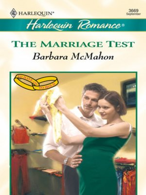 cover image of The Marriage Test