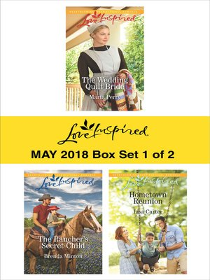 cover image of Harlequin Love Inspired May 2018--Box Set 1 of 2