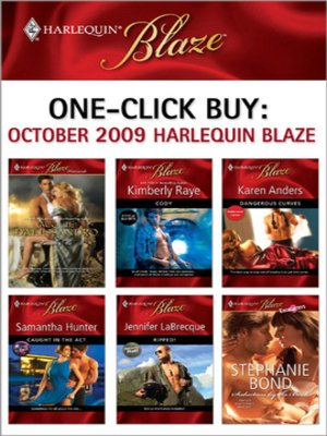 cover image of October 2009 Harlequin Blaze: Touch Me\Cody\Dangerous Curves\Caught in the Act\Ripped!\Seduction by the Book