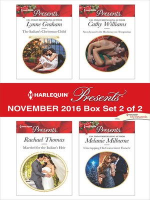 cover image of Harlequin Presents November 2016, Box Set 2 of 2