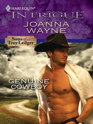 cover image of Genuine Cowboy