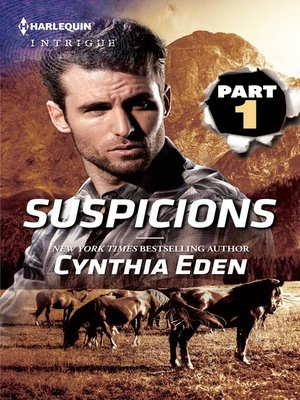 cover image of Suspicions Part 1 of 3
