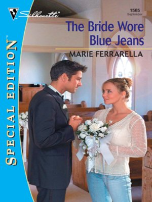 cover image of The Bride Wore Blue Jeans