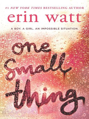 cover image of One Small Thing