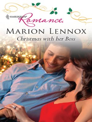 cover image of Christmas with her Boss
