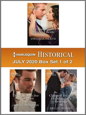 cover image of Harlequin Historical July 2020--Box Set 1 of 2