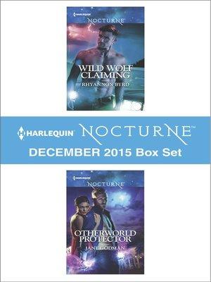 cover image of Harlequin Nocturne December 2015, Box Set