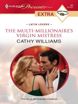 cover image of The Multi-Millionaire's Virgin Mistress