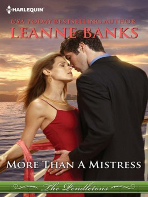 cover image of More Than a Mistress
