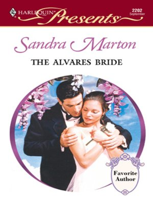 cover image of The Alvares Bride