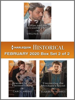 cover image of Harlequin Historical February 2020--Box Set 2 of 2