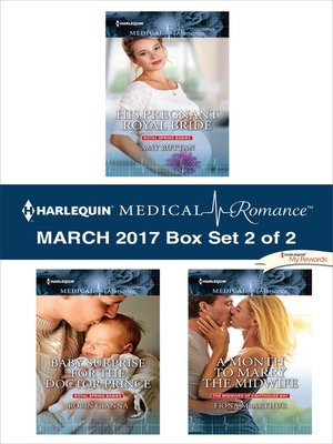 cover image of Harlequin Medical Romance March 2017, Box Set 2 of 2