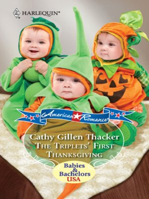 cover image of Triplets' First Thanksgiving